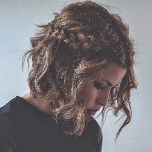 Half Up French Braid For Short Hair Step Up Your Braid Game With