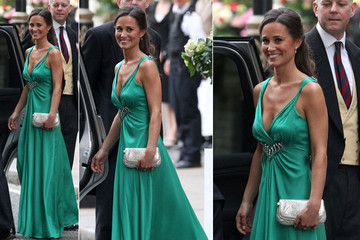 Pippa Middleton Hits the Royal Afterparty in Temperley
