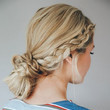 Double Dutch Braid Bun