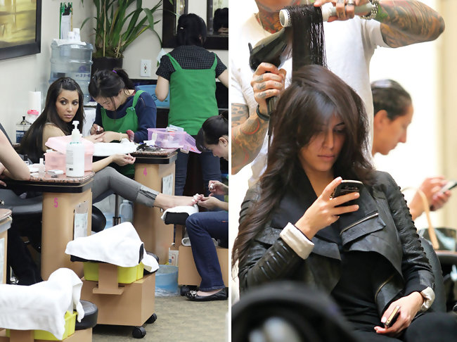 Celebrity Beauty Book: Here\'s Where Kim Kardashian Gets Her Hair and ...