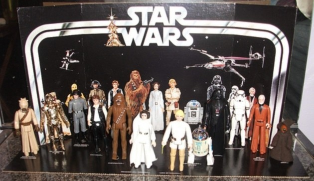 1977 Star Wars Figurines The Most Popular Christmas Toy