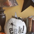 Newspaper Pumpkin