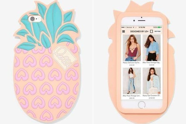 Pineapple Silicone iPhone Case