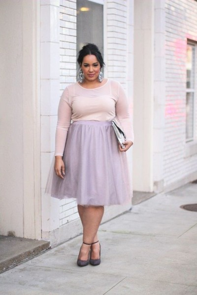 Get Your Ballerina On - Plus-Size Date Outfits To Slay In - Livingly