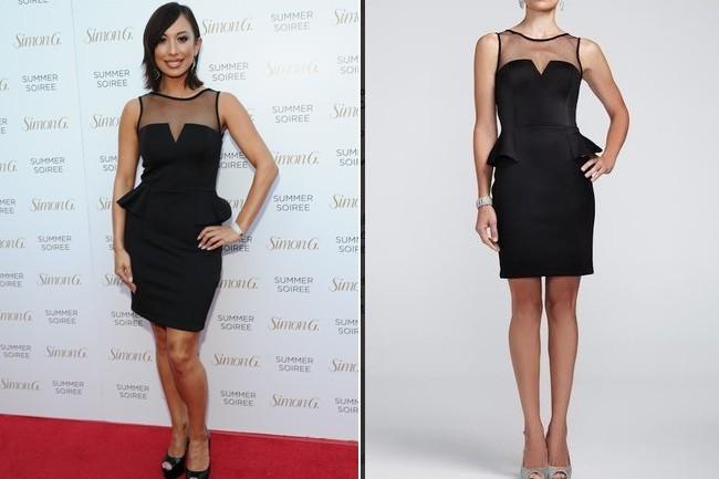Found  Cheryl Burke s Affordable Cocktail Dress - Celebrity Style - Livingly a5210fb3d