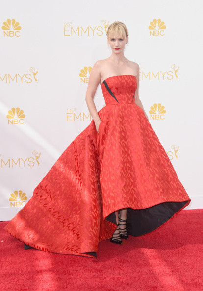 January Jones 2014 Emmy Awards