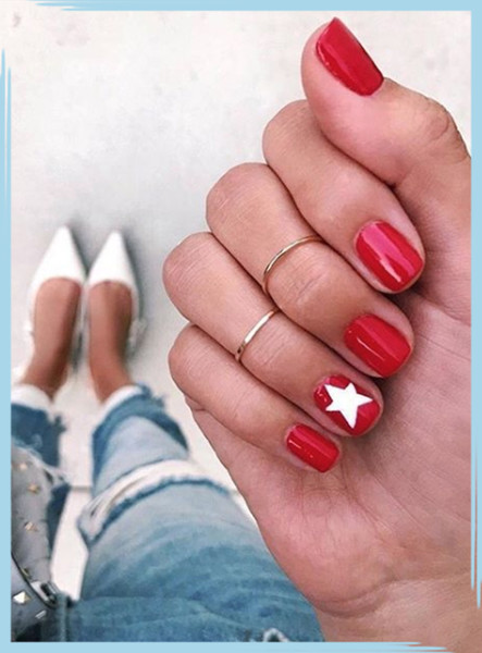 Patriotic Fourth Of July Nail Designs
