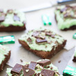 Chocolate Andes Mint Brownies