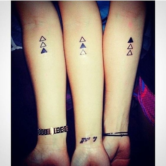 260 Best Tattoos I Might Want Images On Pinterest: Super Cute Matching Tattoo Ideas For You
