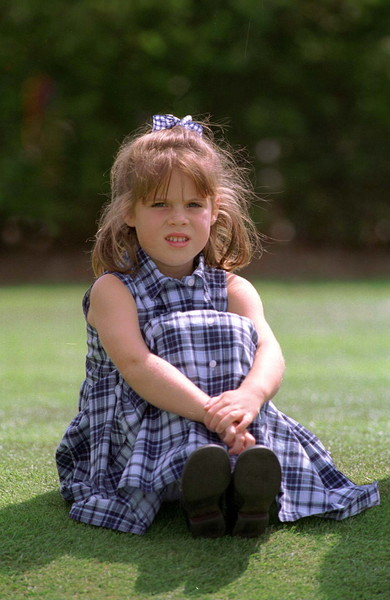 Then: Princess Eugenie