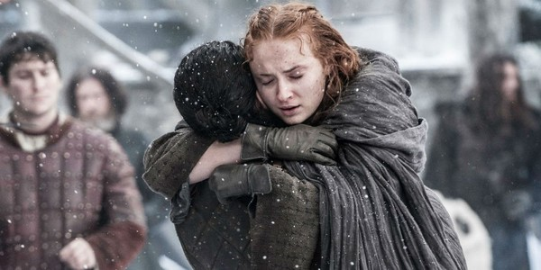 ...and, more recently, when she convinces a newly undead Jon to take back Winterfell.