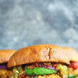 Green Chili Veggie Burgers
