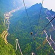 Take in the View From Mount Tianmen, National Forest Park, China