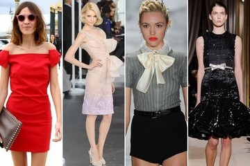 Fashion Forecast: Wrapped Up With a Bow