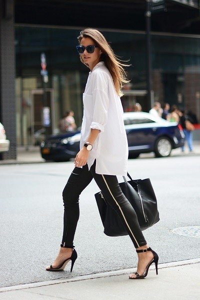 Dress It Up With A White Collared Shirt