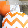Chevron Pumpkin
