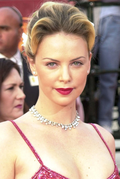 Charlize Theron Then