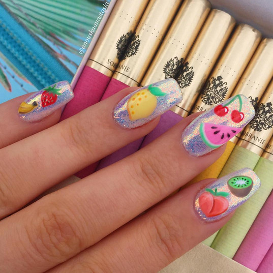 Candy Nails (Fruit)