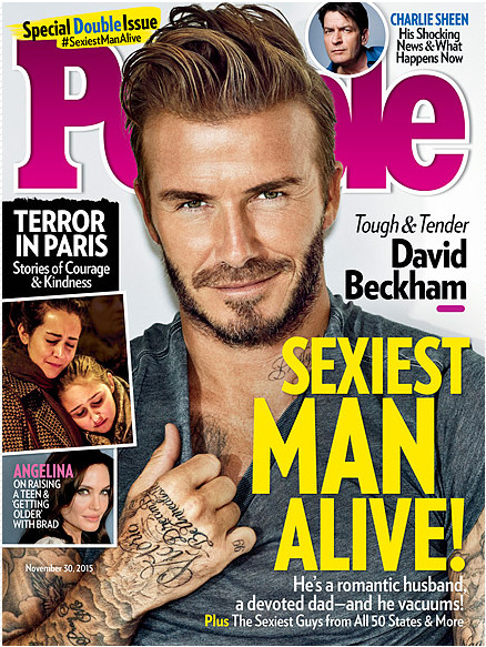 Proof David Beckham Really Is the Sexiest Man Alive