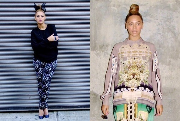 5 Covetworthy Outfits From Beyonce 39 S Instagram Celebrity Style Livingly