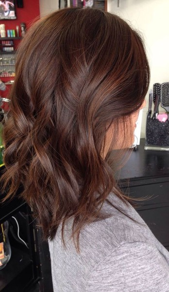milk chocolate hair color with caramel highlights 20 gorgeous