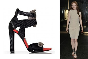 Crazy Love: Julianne Moore's Alexander Wang Sandals
