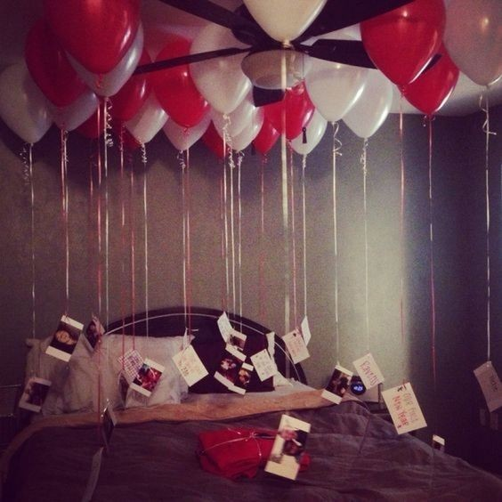 Photographic memory diy valentine 39 s day gifts he 39 ll - Valentines room decoration ideas ...
