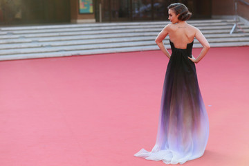 Lily Collins's Romantic Gown