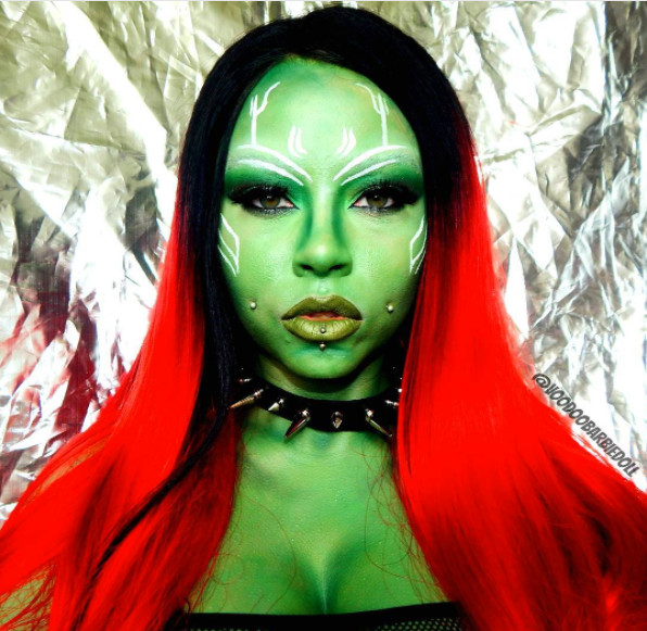 Gamora of Guardians of the Galaxy