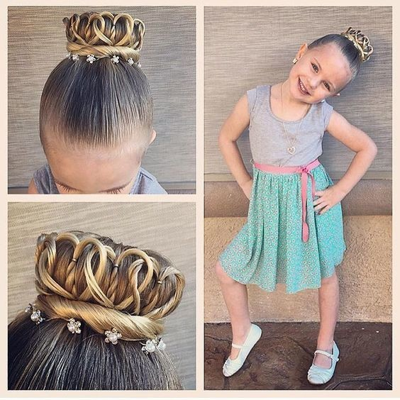 hair cut styles for little girls crown your princess back to school hairstyle ideas 3986 | egAlDrlyRRIx