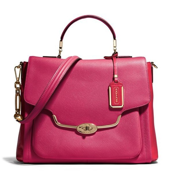 A Structured Satchel in an Unexpected Shade