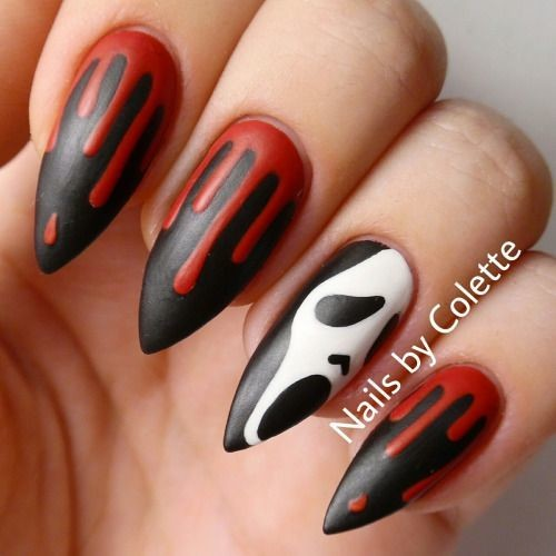 Nail Colors Halloween: Halloween Nails So Cool They'll
