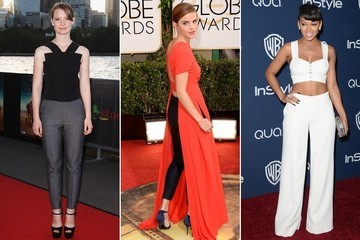 Are Pants-on-the-Red-Carpet Going to Be a Thing This Season?