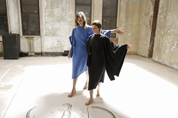 Video: Behind-the-Scenes at the Maison Martin Margiela x H&M Collaboration Photoshoot