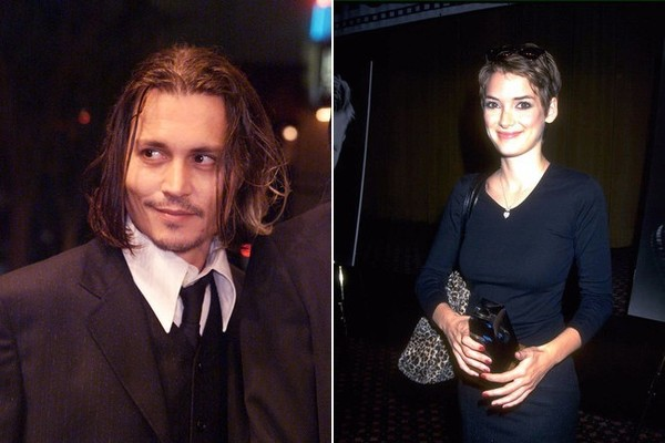 1993: Winona Ryder & Johnny Depp