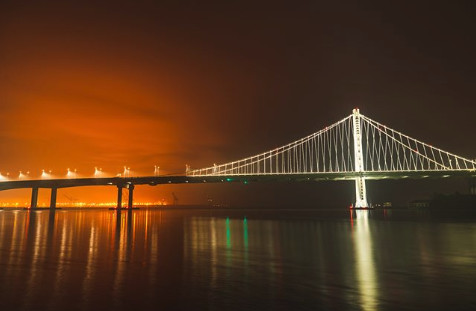 The Bay Lights In San Francisco, CA