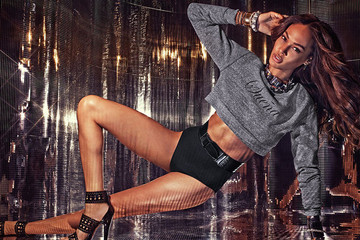 Joan Smalls Debuts Bombshell-Worthy Capsule Collection for True Religion