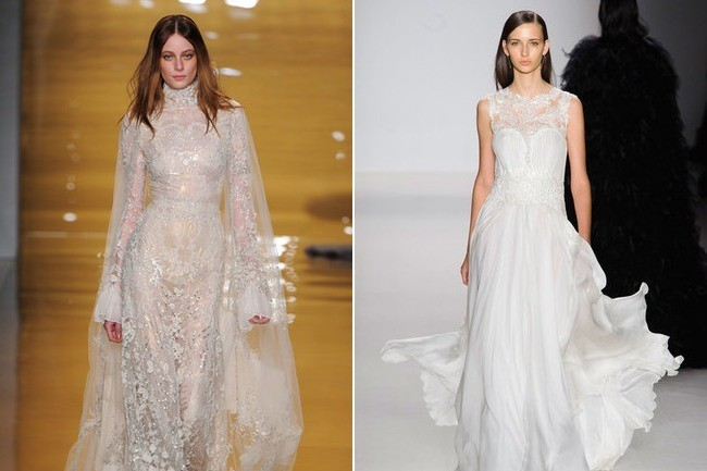 Which Wedding Gown Would You Rather Wear? - This or That - Livingly