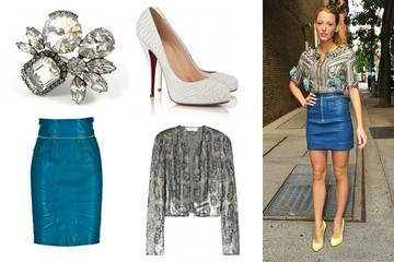 Shop This: Blake Lively's Embellished Look
