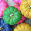 Neon DIY Mini Pumpkins