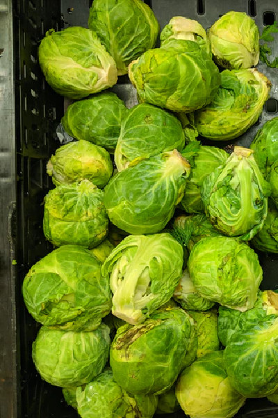 Shaved Brussel Sprouts Hack