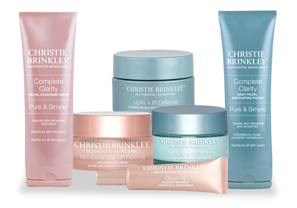March: Christie Brinkley Authentic Skincare