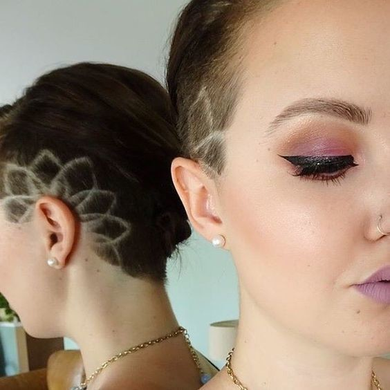 one sided undercut hair designs for the most bold and