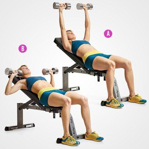 incline dumbbell press get strong with these upper body exercises