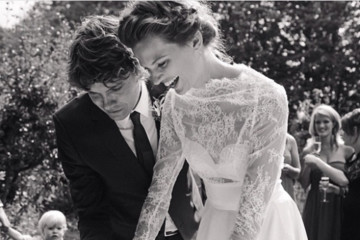 This Is What Top Models Wore for Their Weddings