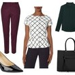 A Checkered-Chic Look Like Olivia Pope's on 'Scandal'