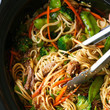 Make slow cooker lo mein