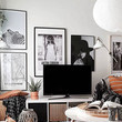 Get Messy With Your TV Space