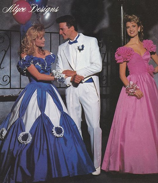 1990- 91 - These Were The Biggest Prom