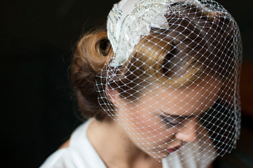 Beautiful Birdcage Veils